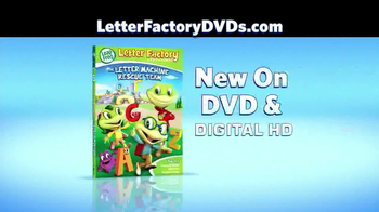 Leap Frog Letter Factory: The Letter Machine Rescue Team DVD TV Spot - Thumbnail 3