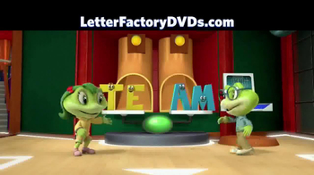 Leap Frog Letter Factory: The Letter Machine Rescue Team DVD TV Spot - Thumbnail 8