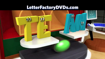 Leap Frog Letter Factory: The Letter Machine Rescue Team DVD TV Spot - Thumbnail 9