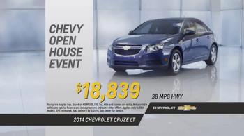 Chevrolet Open House Event TV Spot, 'Your House' - Thumbnail 9