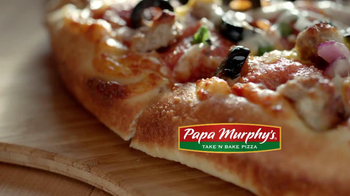 Papa Murphy's Fresh Pan Pizza TV Spot, 'From Scratch' - Thumbnail 9