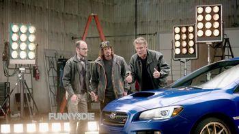 Subaru TV Spot, 'Why Won't You Talk?' Featuring David Hasselhoff'