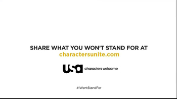 USA Characters Unite TV Spot, 'I Won't Stand For' Featuring Whoopi Goldberg - Thumbnail 9