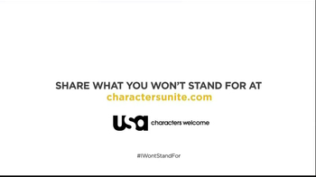 USA Characters Unite TV Spot, 'I Won't Stand For' Featuring Whoopi Goldberg - Thumbnail 8