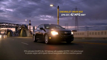 Chevrolet Cruze Eco TV Spot, 'Around the Country' - Thumbnail 8