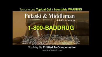 Pulaski & Middleman TV Spot, 'Testosterone' - Thumbnail 10