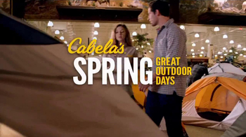 Cabela's Spring Great Outdoor Days  TV Spot, 'Spring in Your Step'