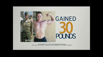 CB-1 Weight Gainer TV Spot, 'Skinny or Scrawny' - Thumbnail 6