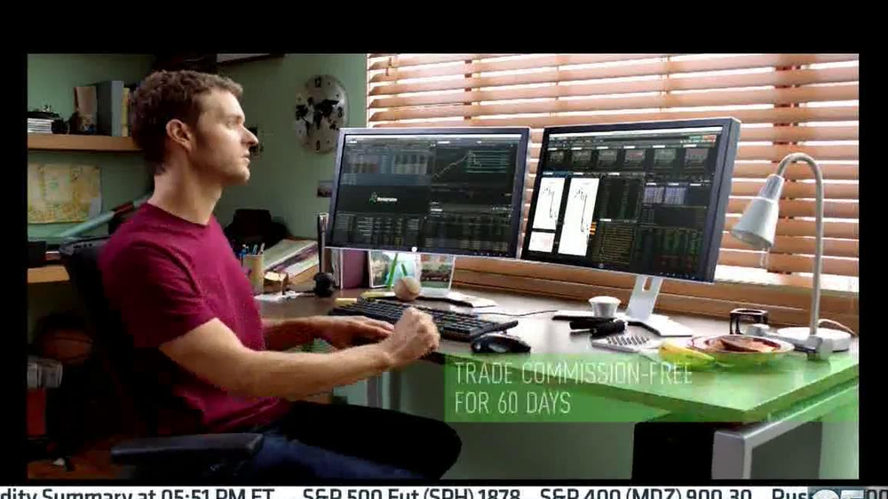 TD Ameritrade Think or Swim TV Commercial, 'In the Action' - Video
