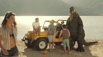 Snickers TV Spot, 'Godzilla' - Thumbnail 1