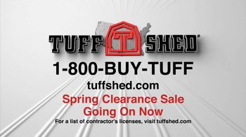 Tuff Shed TV Spot, 'Spring Clearance Sale'