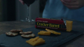Cracker Barrel Cheeder Cheese TV Spot, \'Late Night Snacking\'