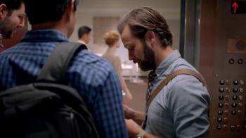 Dunkin' Donuts Eggs Benedict Breakfast Sandwich TV Spot, 'Elevator' - Thumbnail 1