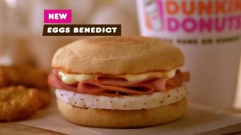 Dunkin' Donuts Eggs Benedict Breakfast Sandwich TV Spot, 'Elevator' - Thumbnail 10