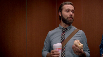Dunkin' Donuts Eggs Benedict Breakfast Sandwich TV Spot, 'Elevator' - Thumbnail 4