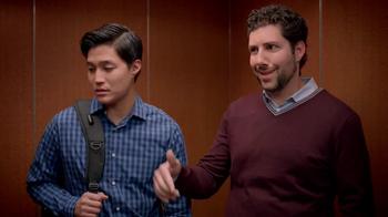 Dunkin' Donuts Eggs Benedict Breakfast Sandwich TV Spot, 'Elevator' - Thumbnail 5