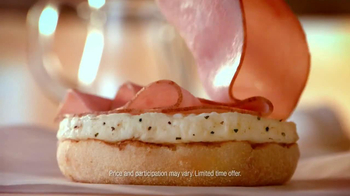 Dunkin' Donuts Eggs Benedict Breakfast Sandwich TV Spot, 'Elevator' - Thumbnail 8