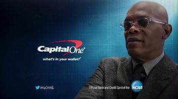 Capital One Quicksilver Card TV Spot, 'No Look Pass' Ft. Samuel L. Jackson - Thumbnail 7