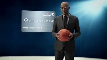 Capital One Quicksilver Card TV Spot, 'No Look Pass' Ft. Samuel L. Jackson - 1453 commercial airings