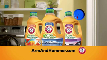 Arm and Hammer Clean Scentsations TV Spot