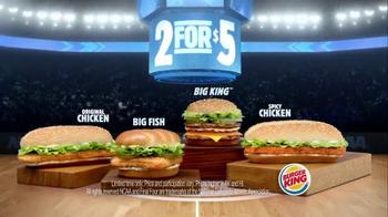 Burger King TV Spot, '2 for $5: NCAA March Madness' Feat. Chris Webber - Thumbnail 10