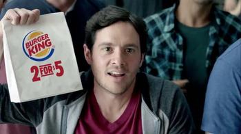 Burger King TV Spot, '2 for $5: NCAA March Madness' Feat. Chris Webber - Thumbnail 6