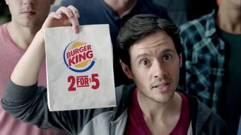 Burger King TV Spot, '2 for $5: NCAA March Madness' Feat. Chris Webber - Thumbnail 7