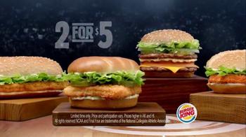 Burger King TV Spot, '2 for $5: NCAA March Madness' Feat. Chris Webber - Thumbnail 9