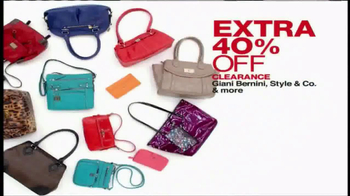 Macy's One Day Sale TV Spot, 'March 2014' - Thumbnail 8