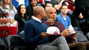 Capital One TV Spot, 'Bleacher Banter: Autograph' Featuring Charles Barkley
