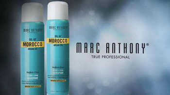 Marc Anthony Oil of Morocco Argan Oil Hairspray TV Spot