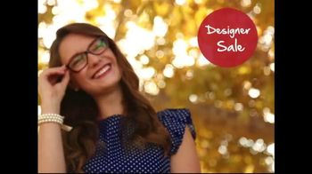 America's Best Contacts and Eyeglasses TV Spot, 'Designer Frames' - Thumbnail 7