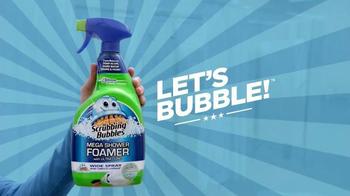 Scrubbing Bubbles Mega Shower Foamer TV Spot, 'Makes Cleaning Easy' - Thumbnail 5