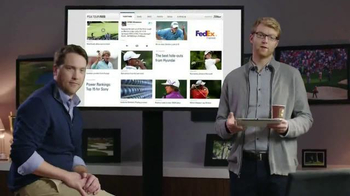 PGA TV Spot, 'Redesigned Website' Featuring Ian Poulter - Thumbnail 2