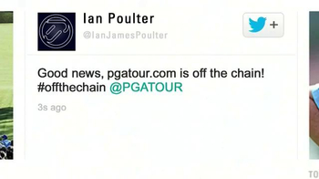 PGA TV Spot, 'Redesigned Website' Featuring Ian Poulter - Thumbnail 8