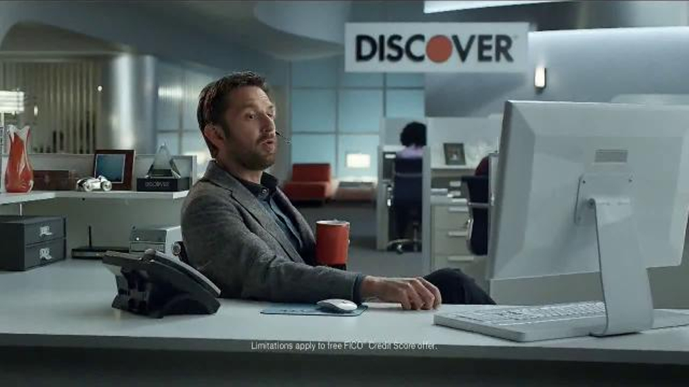 discover card it card fico tv commercial surprise ispot tv