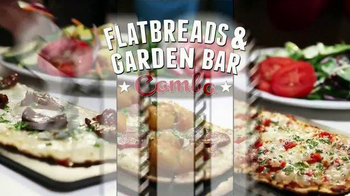 Ruby Tuesday Flatbreads & Garden Bar TV Spot - 736 commercial airings