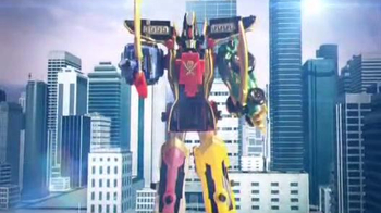 Power Rangers MegaForce Deluxe Legendary Megazoid TV Spot
