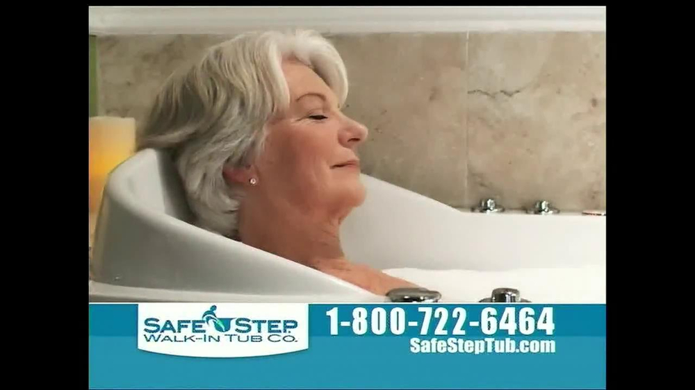 Safe Step Tub TV Commercial, \'Great News\' - iSpot.tv