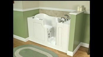 Safe Step Tub TV Spot, 'Great News' - Thumbnail 1