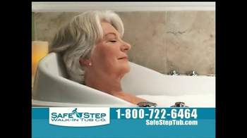 Safe Step Tub TV Spot, 'Great News'
