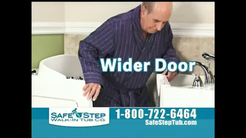 Safe Step Tub TV Spot, 'Great News' - Thumbnail 7
