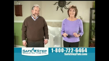Safe Step Tub TV Spot, 'Great News' - Thumbnail 9