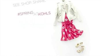 Kohl's TV Spot, 'Spring'