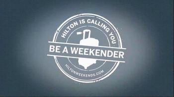 Hilton Hotels Worldwide TV Spot, 'Weekend: The Shore' - Thumbnail 9