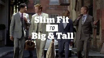 Men's Wearhouse TV Spot, 'Slim Fit, Big & Tall'