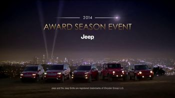 Jeep Award Season Event TV Spot - 104 commercial airings