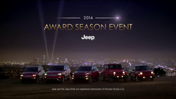 Jeep Award Season Event TV Spot - Thumbnail 7