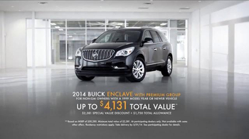 2014 Buick Enclave TV Spot, 'Lighting' - Thumbnail 10