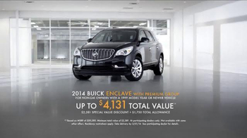 2014 Buick Enclave TV Spot, 'Lighting' - Thumbnail 9